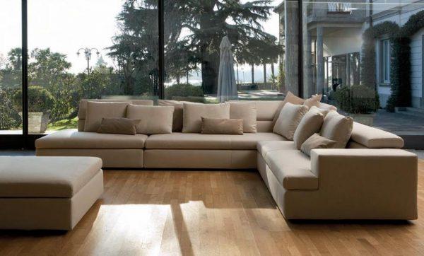 Модульная мягкая мебель для гостиной в современном стиле
