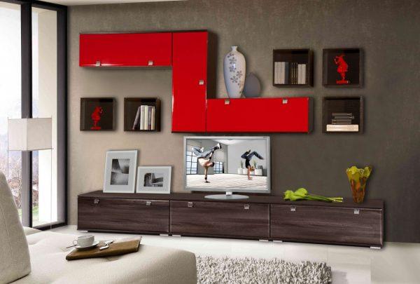 Поп-арт стиль: дизайн мебели для гостиной