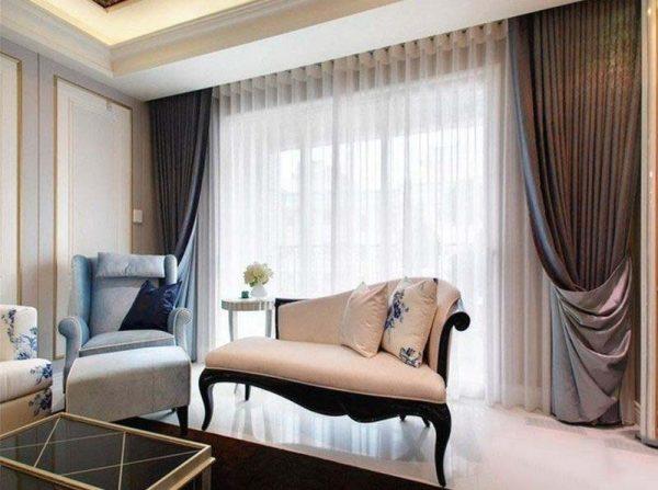Шторы для гостиной в стиле модерн