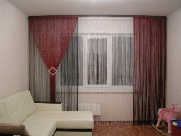 Шторы-нити - актуальный и модный аксессуар в доме