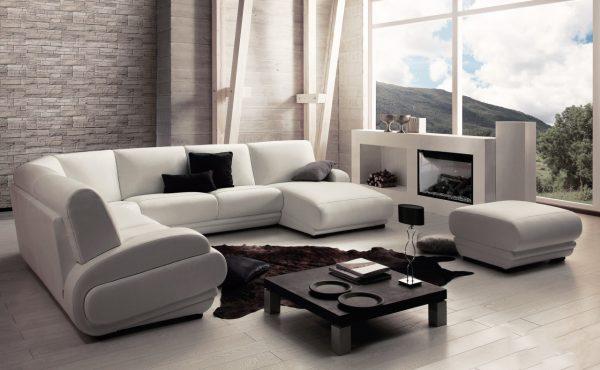 Стильные диван и кресла для современной гостиной