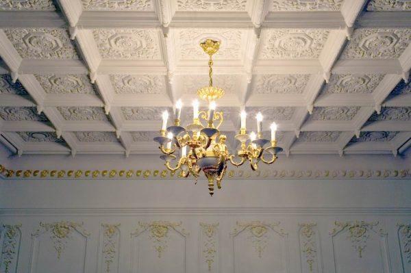 Готовые кессонные потолки