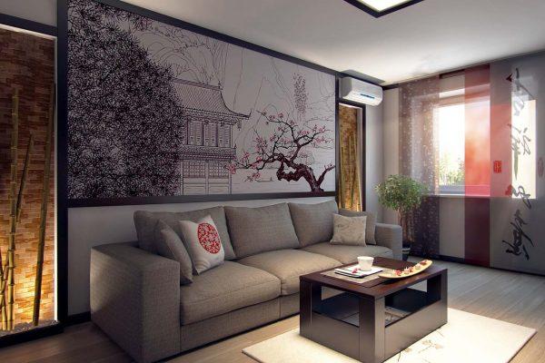 Дизайны квартир в японском стиле