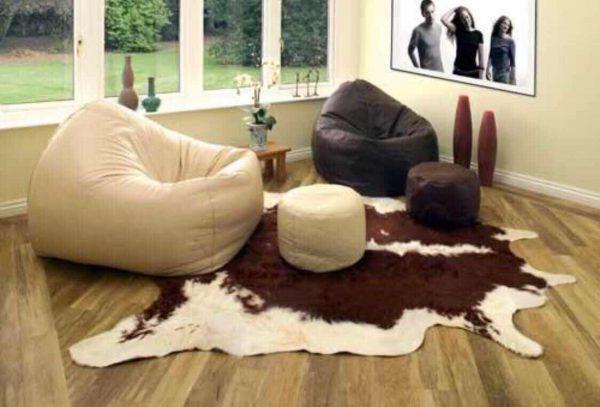 Мягкие кресла мешки для молодежной гостиной