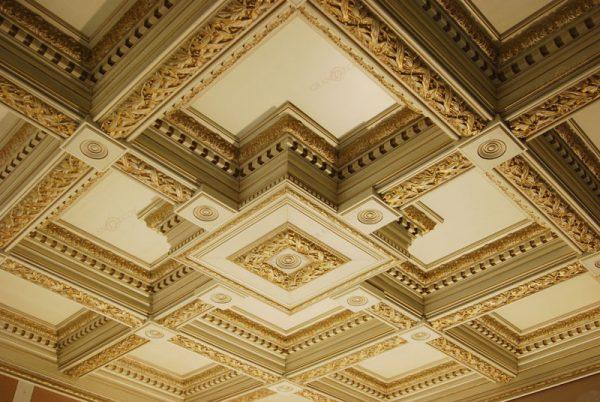 Современные кессонные потолки