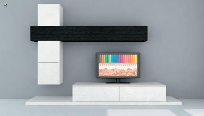 современные модульные стенки в гостиную 50 фото идей