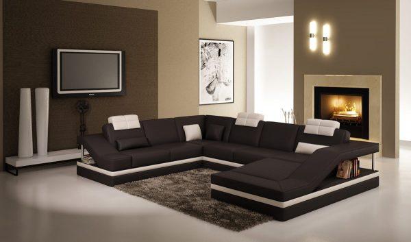 Функциональный модульный диван