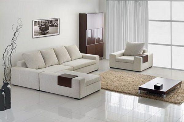 Небольшой угловой модульный диван
