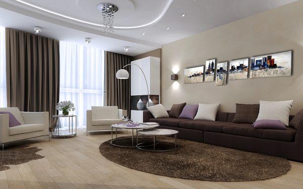 Ремонт в гостиной