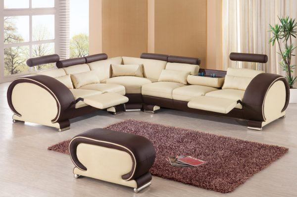 Дизайн гостиной мягкой мебели