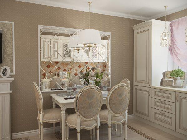 Стол для кухни в классическом стиле