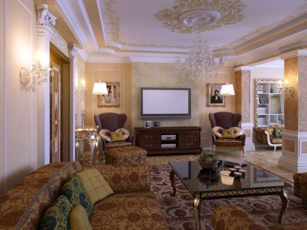 Потолки в классическом стиле