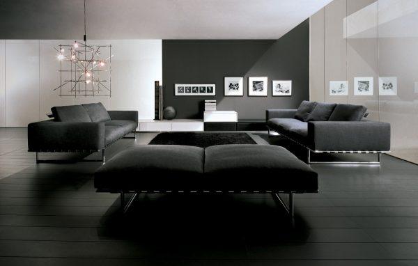 Техно стиль: мягкая модульная мебель