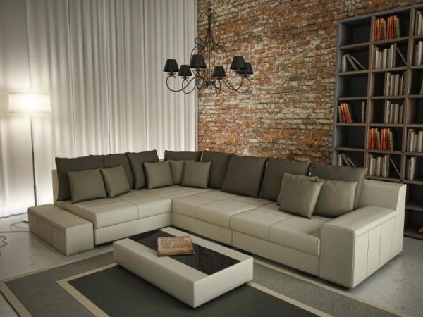 Большой диван в гостиную
