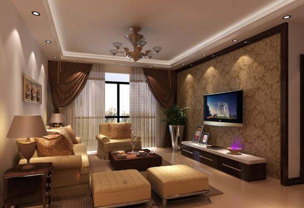 Красивые гостиные в обычных квартирах