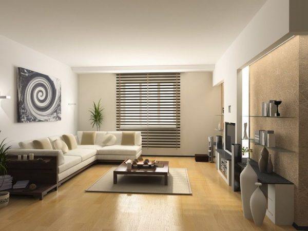 Декоративные элементы для гостиной в стиле модерн